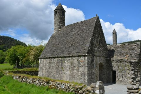 Glengalough church